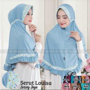 SALE STOCK Hijab Serut Louisa