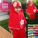 Jilbab Anak Bunga Motif