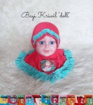 Jilbab Bayi Kriwil Doll