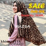 SALE STOCK Khimar Ziopard