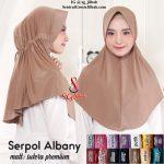Jilbab Serpol Albany Premium