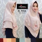 Hijab 2 L Polos  Anqueela