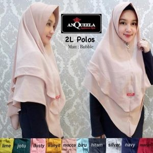 Hijab 2 L Polos  Anqueela