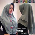 Hijab Bunga Rosse