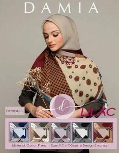 Hijab Segi Empat DAMIA LILAC 03