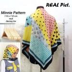 Segi Empat Denay KW Minnie Pattern