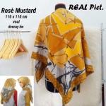 Segi Empat Denay KW Rose Mustard