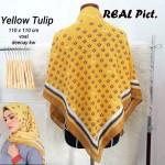 Segi Empat Denay KW Yellow Tulip