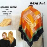 Segi Empat Denay KW Spencer Yellow