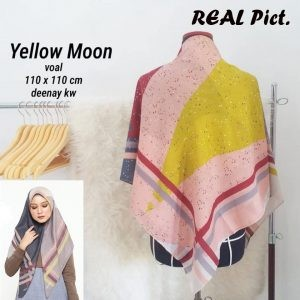 Segi Empat Denay KW Yellow Moon