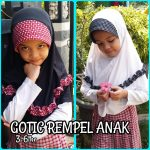 Jilbab Gotic Rempel Anak