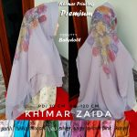 Khimar Zaida Ceruty Printing