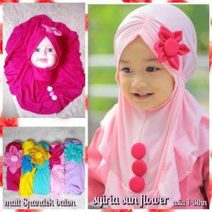 Jilbab Anak Sun Flower