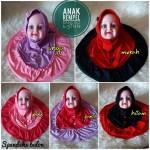 Jilbab Anak Rempel Kancing