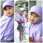 Jilbab Anak Topi Sport