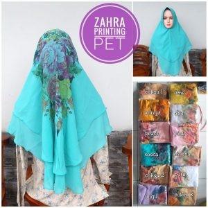 Khimar Zahra Printing Pet