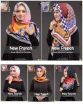 Segi Empat New French 10 Motif