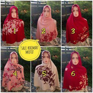 SALE Khimar Motif