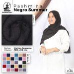 Pashmina Negro Summer