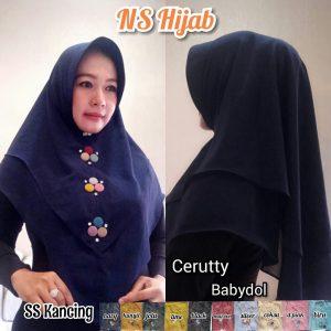 Jilbab SS Kancing NS Hijab