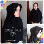 Jilbab Sekolah Hitam