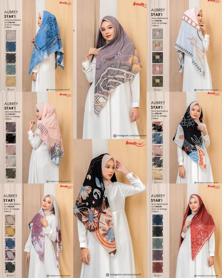Tutorial Hijab Syar I Segi Empat Jumbo Hijabfest