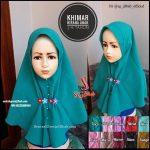 Jilbab Anak SD 2List Rempel Bordir