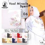 Segi Empat Voal Miracle Syar'i LC