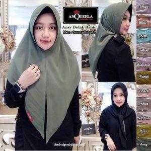 Hijab Ansy Bolak Balik