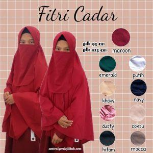Hijab Fitri Cadar
