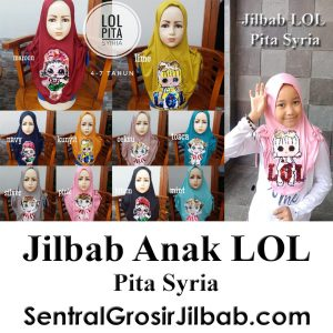 Jilbab Anak LOL Pita Syria