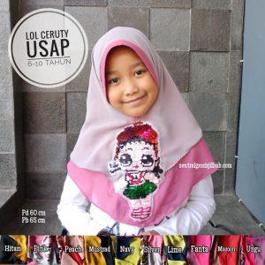 Jilbab Anak LOL Usap Ceruty