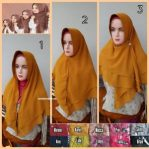 Hijab Trisha Segtiga Instan