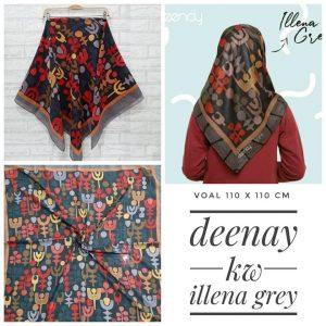 Segi Empat Deenay KW Illena Grey