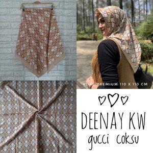 Segi Empat Deenay KW Gucci Coksu