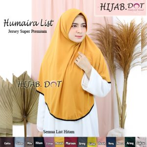 Hijab Humaira List by Hijab DOT