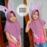 Jilbab Anak BANDO BUNNY LED