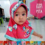 Jilbab Bayi Bordir Pita