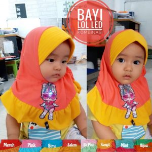 JIlbab Bayi yang LUCU dari Grosir Jilbab Bayi SG Jilbab.