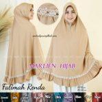 Hijab Fatimah Renda