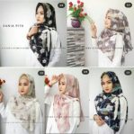 Hijab Segitiga Instan Sania Pita