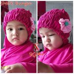 Jilbab Bayi SMOK Bunga.
