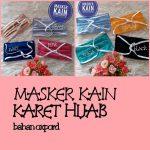 Masker Kain Karet Hijab, Head Loop.