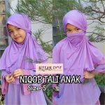 Niqob Tali Anak DOT, (S, M & L)