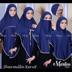 SALE Hijab 3in1 Sharmilla Kerut