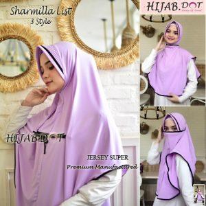 Niqob Sharmilla List Hijab DOT (Detail KLIK Video)