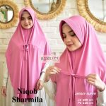 Niqob Sharmilla Plain HIjab.DOT (Detail KLIK Video)