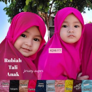 Jilbab Rubiah Tali Anak