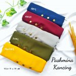 Hijab Pashmina Kancing. Detail KLIK Video.