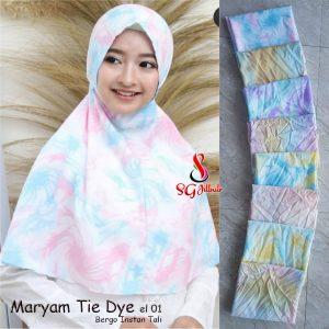 Bergo Maryam Tie Dye el.01